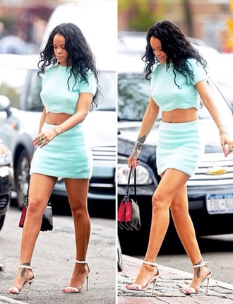 skirt cute beautiful dress rihanna outfit