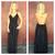 Black Low Back Embroider Maxi Dress                           | Dainty Hooligan Boutique