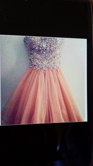dress prom long prom dresses pink dress peach peachdress peach prom dress