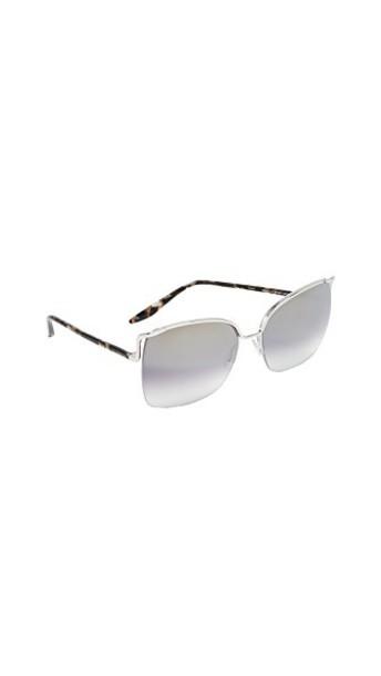 Barton Perreira sunglasses silver marble