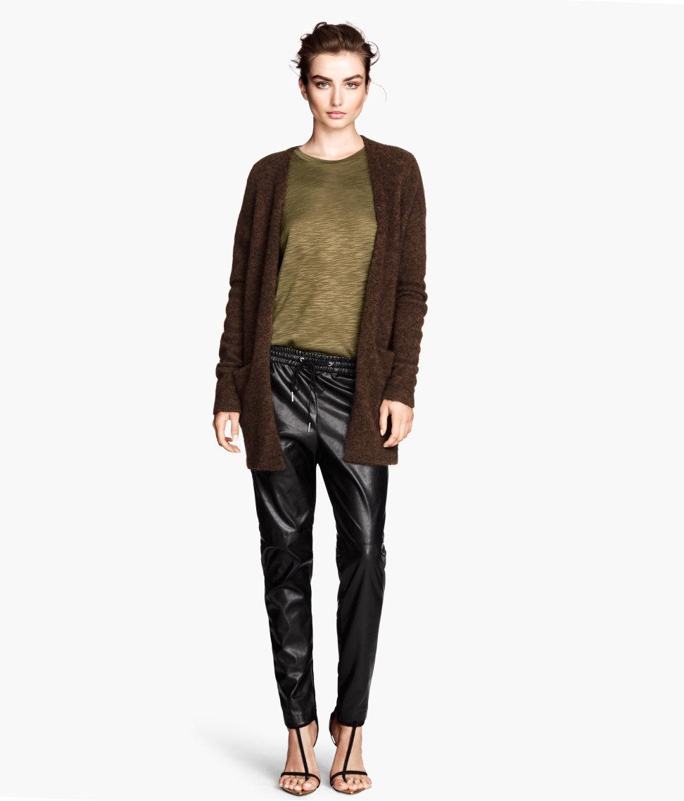 H&M Imitation Leather Pants $34.95