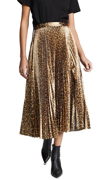 A.L.C. A.L.C. Bobby Skirt in gold / metallic