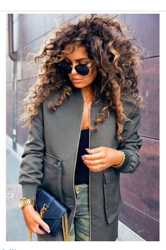 jacket military style blazer khaki olive green sports jacket military coat casual fashion trendy
