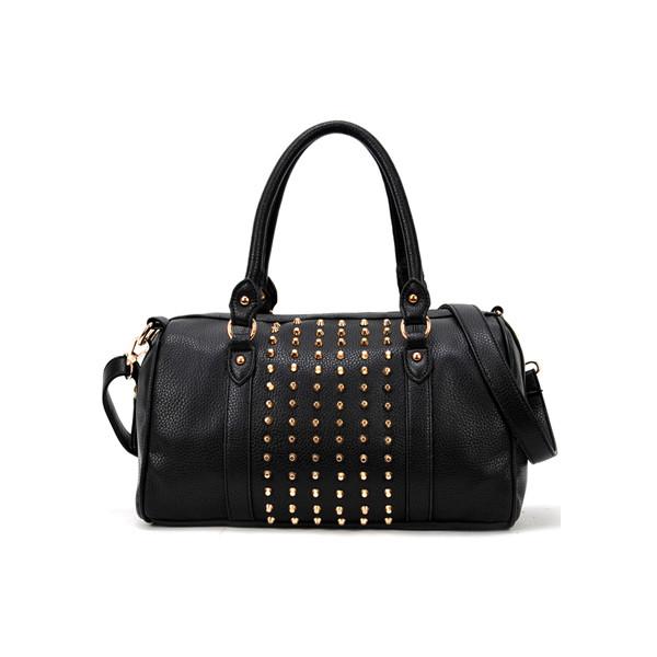 Rivets Black Stud Bag - Polyvore