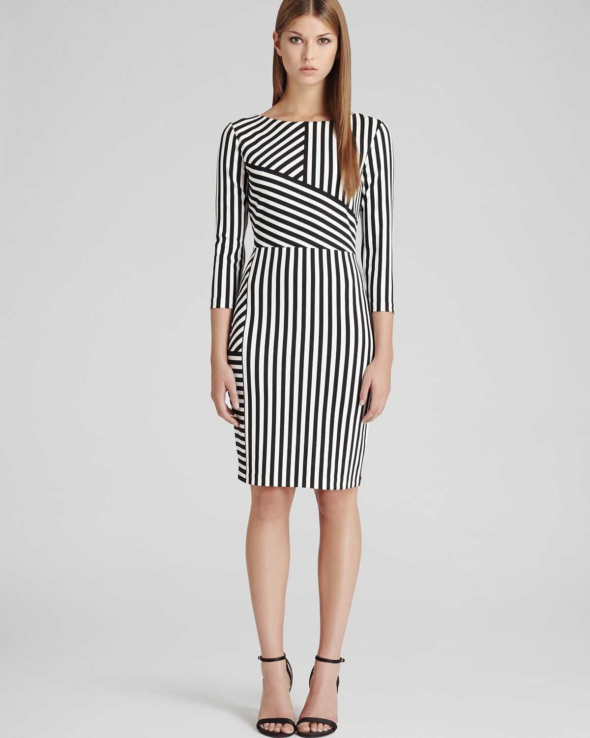 REISS Dress - Carter Jersey Stripe | Bloomingdale's