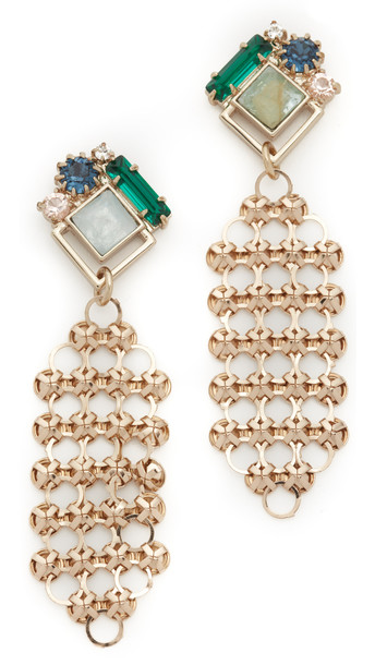 Lulu Frost Cite Earrings - Gold Multi