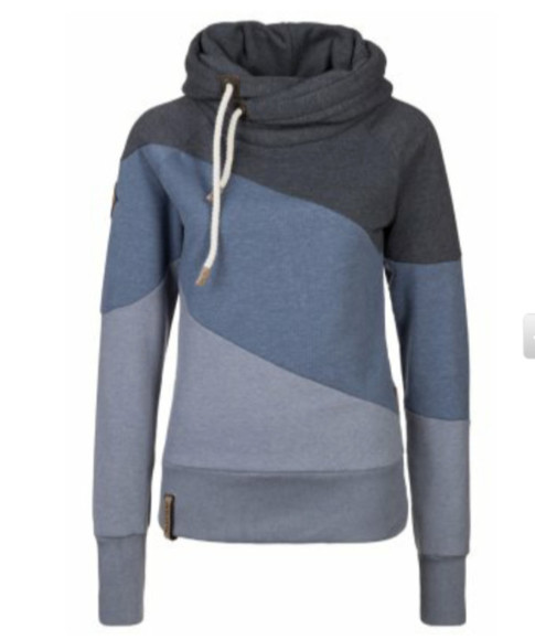 grey jacket hoodie sweater