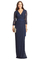 Dvf julianna lace long wrap dress