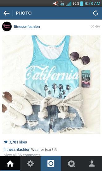 swimwear california onepiece one piece swimsuit bathing suit with print blue one piece swim wear shoes sunglasses