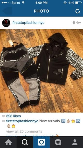 jacket mens jacket all black everything