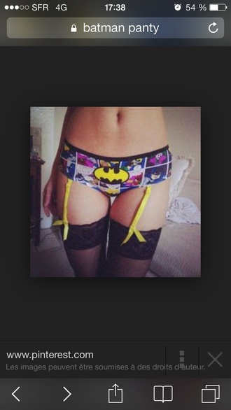 underwear underpants bat dc comics print pants panties batman superheroes suspenders