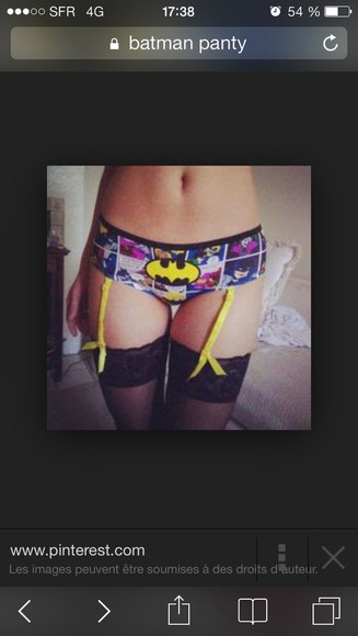 underwear panties batman underpants bat dc comics print pants superheroes suspenders