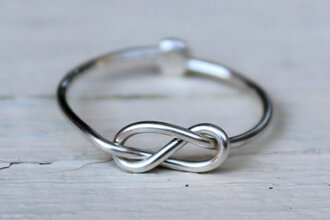 jewels ring silver infinity
