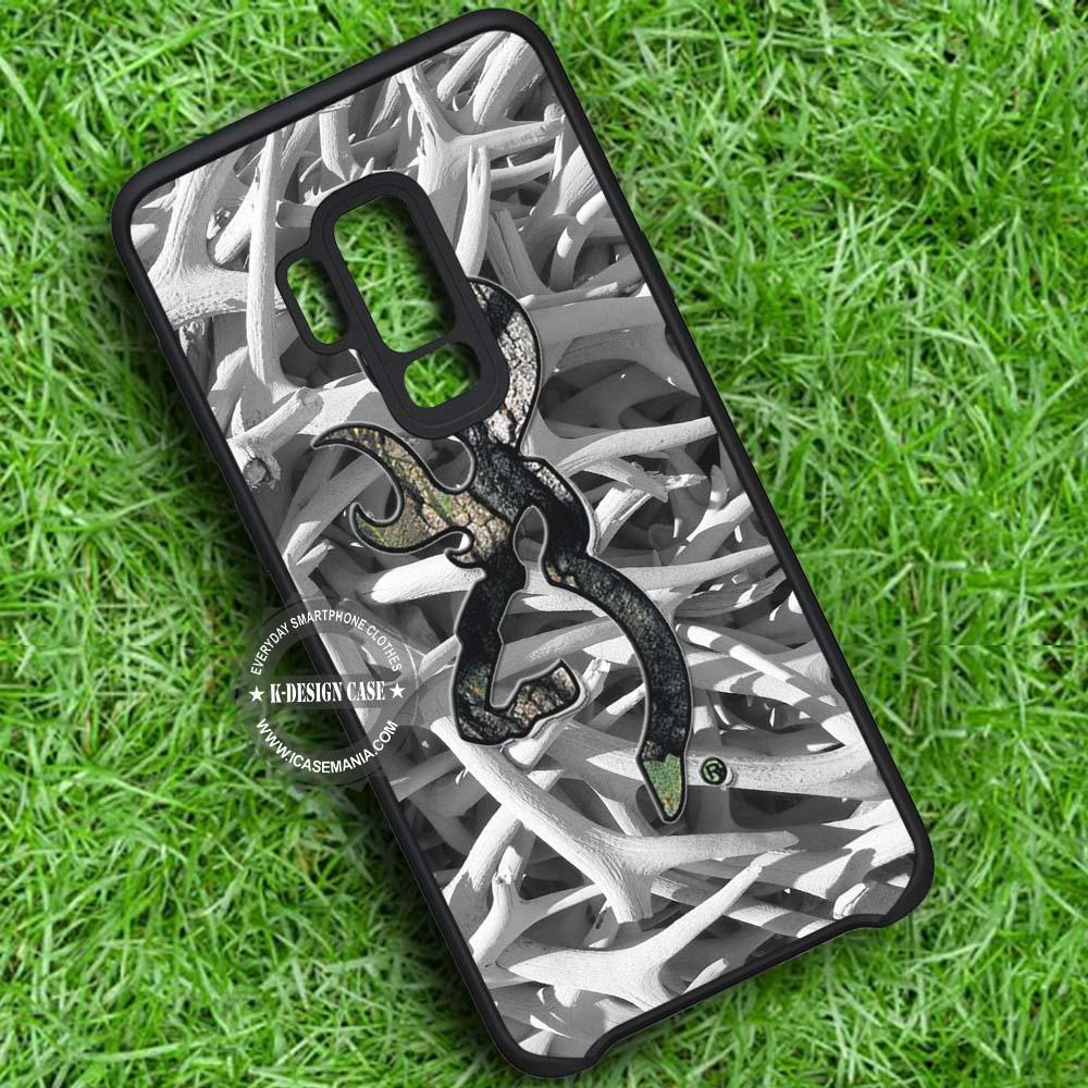 Antlers Image Camouflage iPhone X 8 7 Plus 6s Cases Samsung Galaxy S9 S8 Plus S7 edge NOTE 8 Covers #SamsungS9 #iphoneX