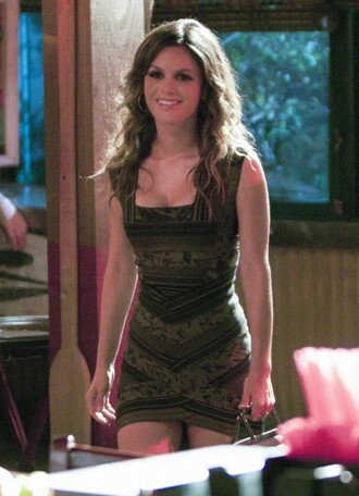 green dress aztec rachel bilson hart of dixie