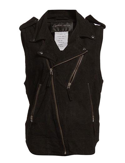 Stella Nova Soft Suede Vest (Black) - Køb og shop online hos Boozt.com