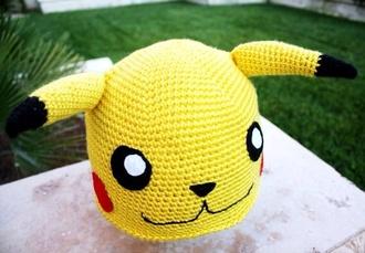hat pikachu cute