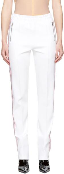 Misbhv pants track pants white