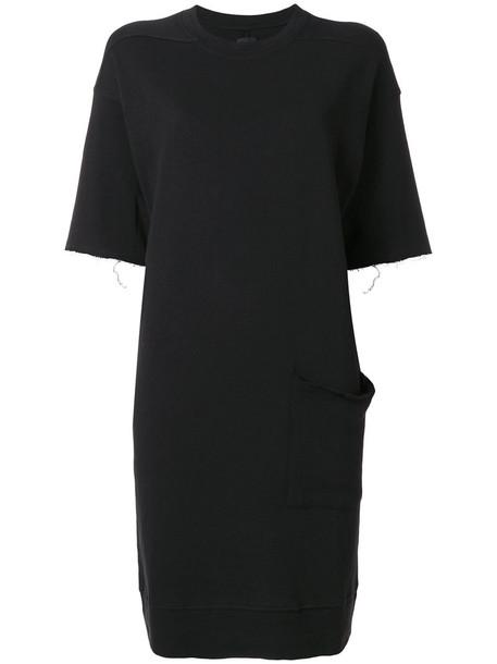Thom Krom dress shirt dress t-shirt dress women cotton black