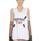 Anonymous icon patch jersey tank top