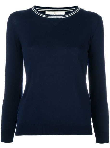 sweater women sporty blue