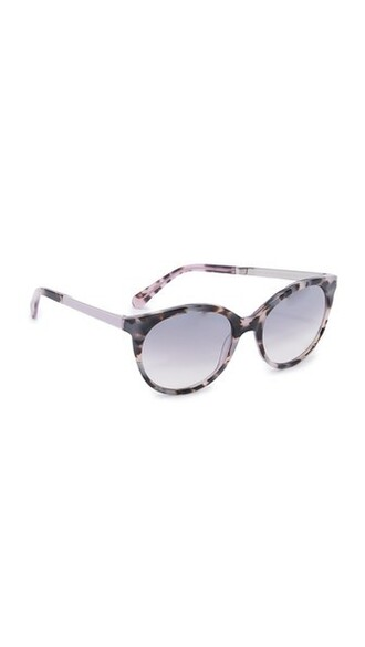 sunglasses grey lilac
