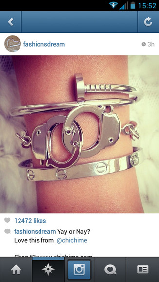 nail gold jewels silver white gold hand cuffs bracelets