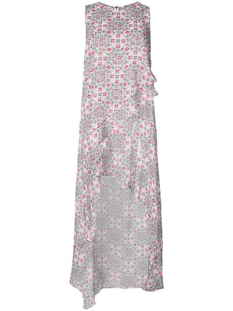Thomas Wylde dress printed dress women white silk