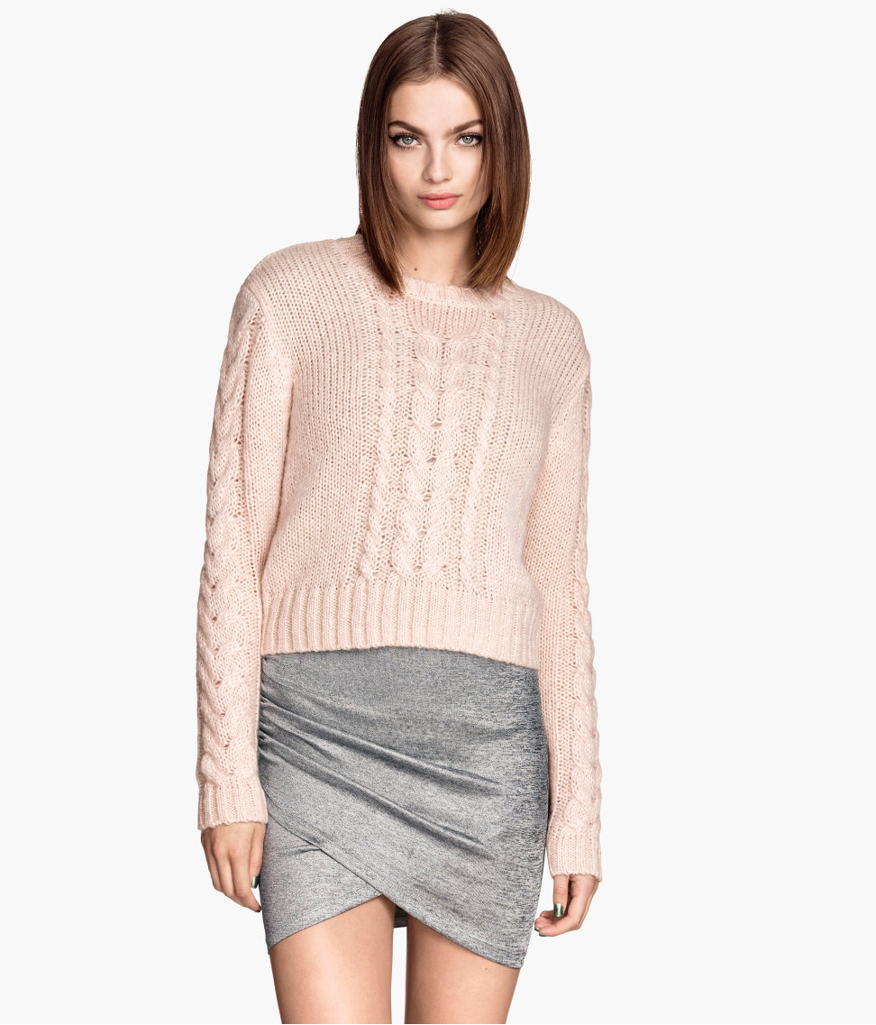 H&M Cable-knit Sweater $24.95