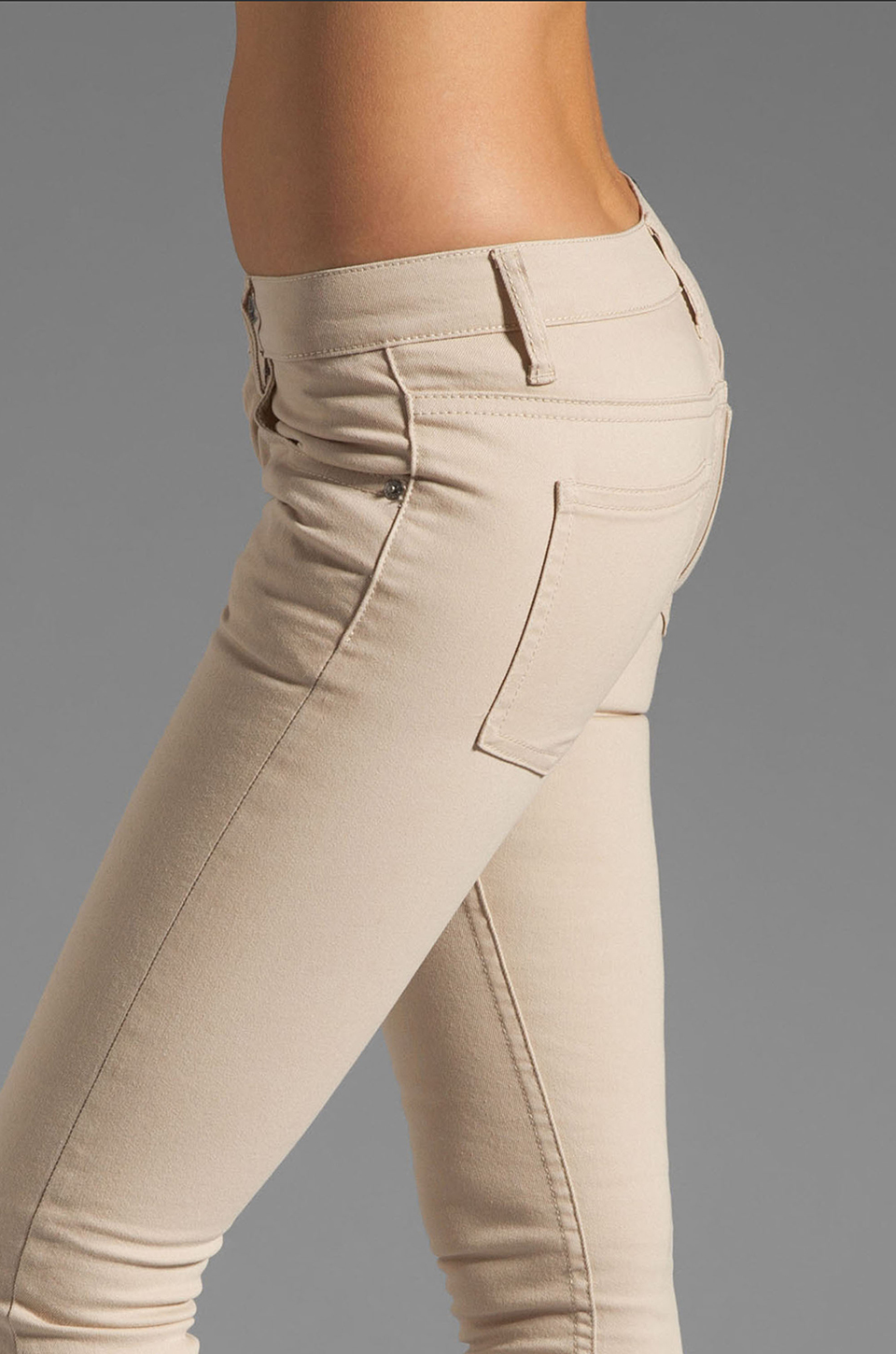 Cheap Monday Narrow in Beige | REVOLVE