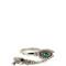 Crystal-embellished hand and eye bracelet