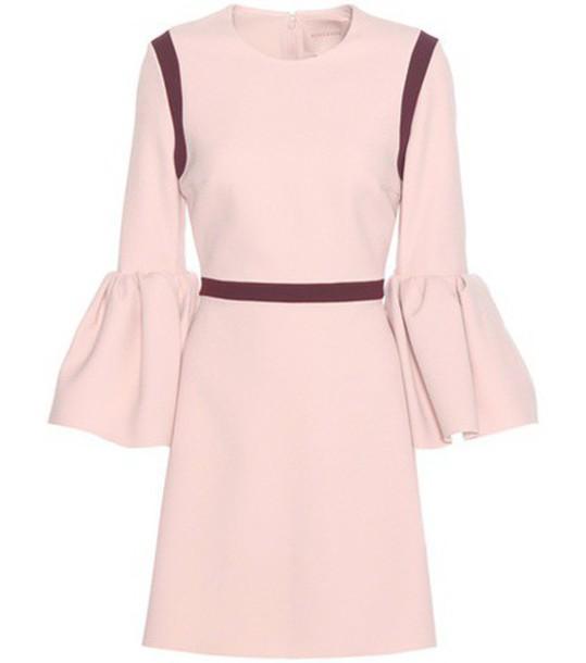 Roksanda Crêpe Mini Dress in pink