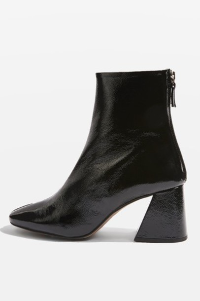 Topshop ankle boots black shoes