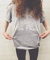 t-shirt,palace,disney,oversized t-shirt,castle,princess