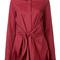 3.1 phillip lim front tied stripe shirt, women's, size: 6, red, cotton/silk