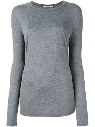 top long grey