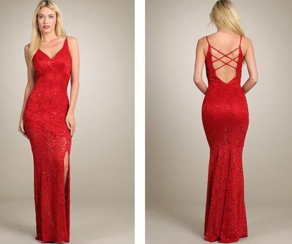 lace dress prom dresses 2014 beautiful dresses hot dresses red prom dress backless prom dress modern prom dresss