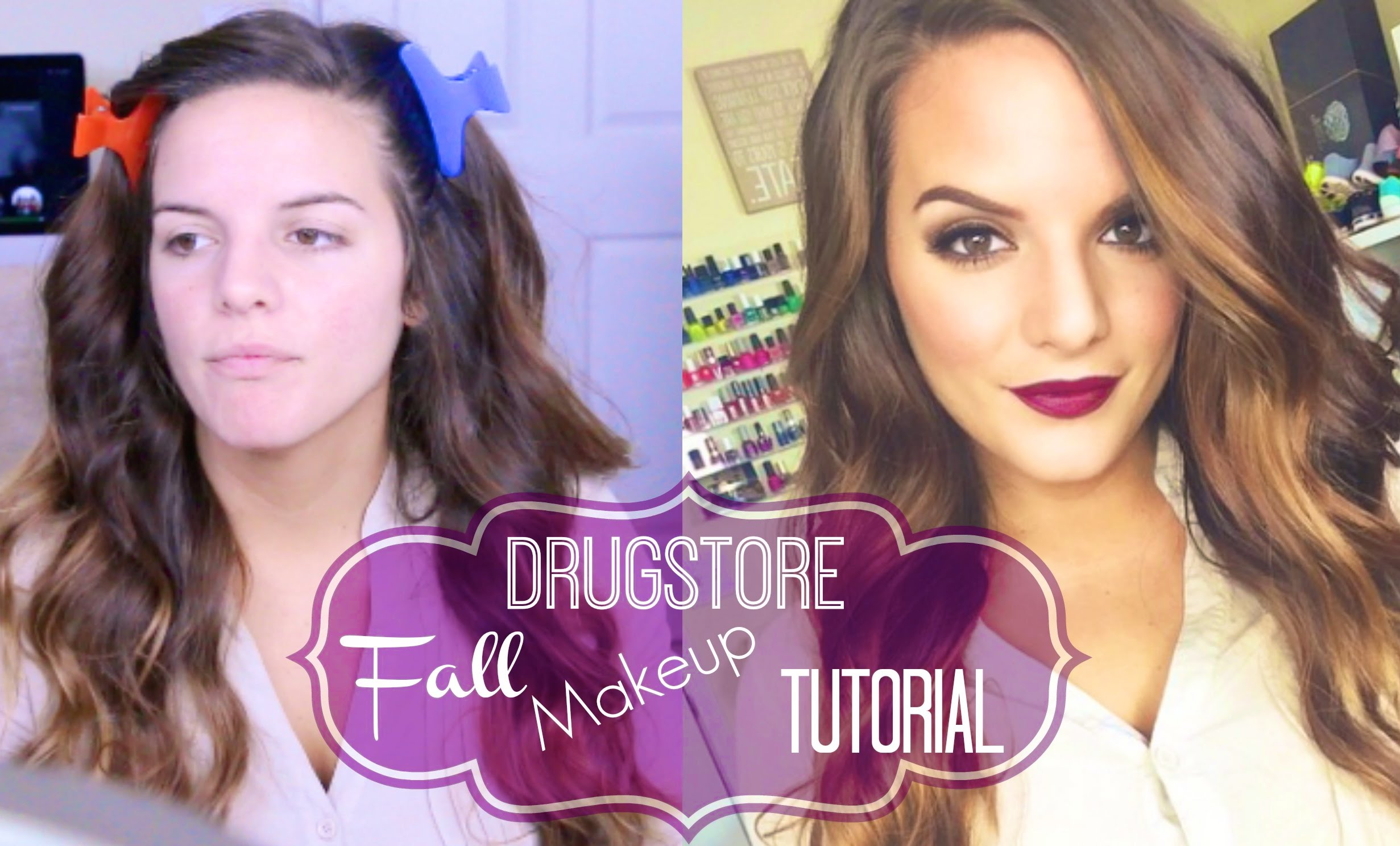 DRUGSTORE Fall Makeup Tutorial!