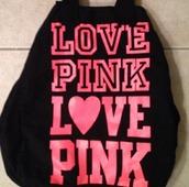 bag,vspink,pink vs