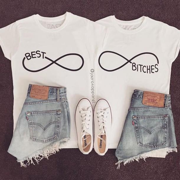 tshirt matching shirts for best friends best friends