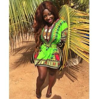 dress african dress african dresses african style african print african print dress short dress dashiki