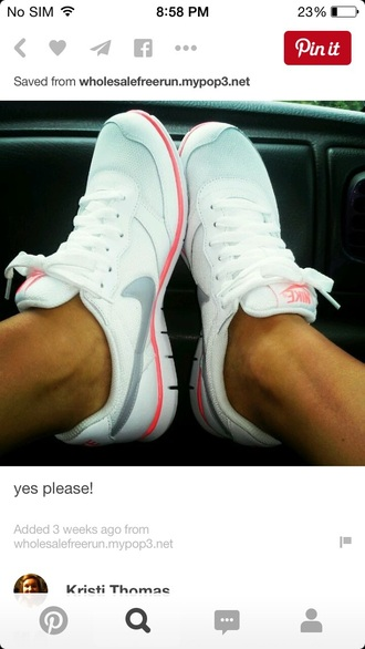 shoes running shoes nike nike running nike running shoes white shoes
