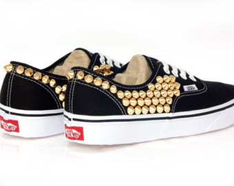 Popular items for studded vans on etsy