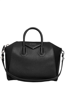 LUISAVIAROMA.COM - GIVENCHY - MEDIUM ANTIGONA GRAINED LEATHER BAG