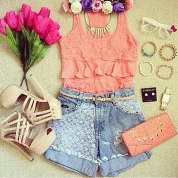 pumps top shorts