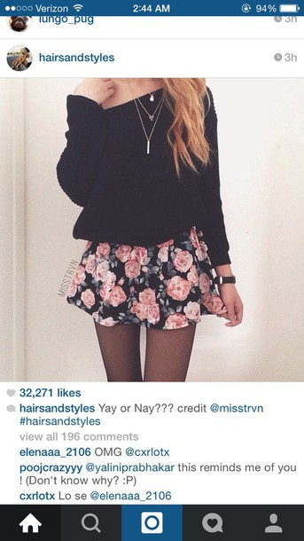 Skirt: Sweater, Cardigan, Instagram, Tumblr, Outfit
