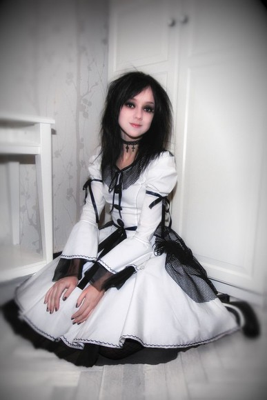 dress fashion style goth