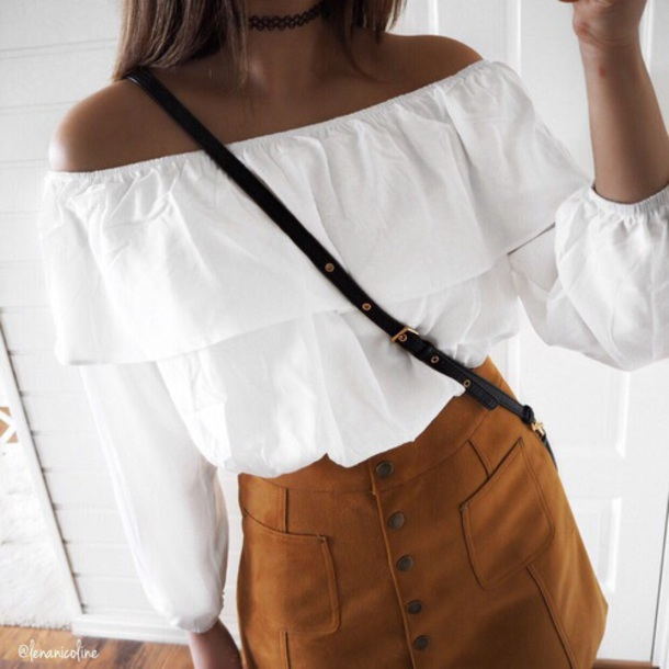 1030e851 shirt blouse white flowy shirt flowy white blouse white shirt classy cute