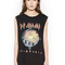 Kel def leppard scoop neck muscle tank