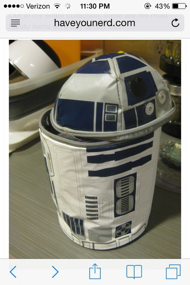 star wars bag fun lunch box vintage